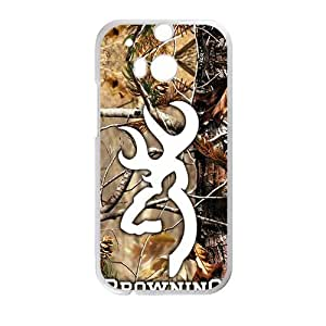 Browning Fashion Comstom Plastic case cover For HTC One M8