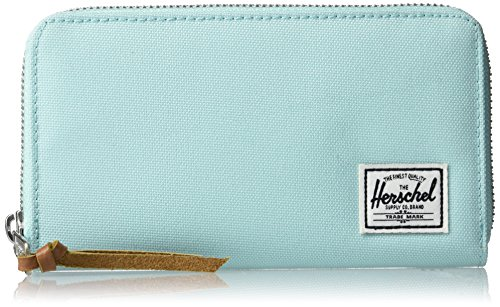 Herschel Thomas Wallet With Zipper Blue Tint / Glacier