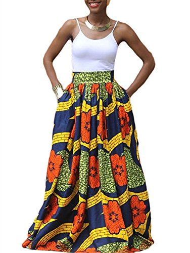 5e3cc4d5d3 Cfanny Womens African Casual Flared product image