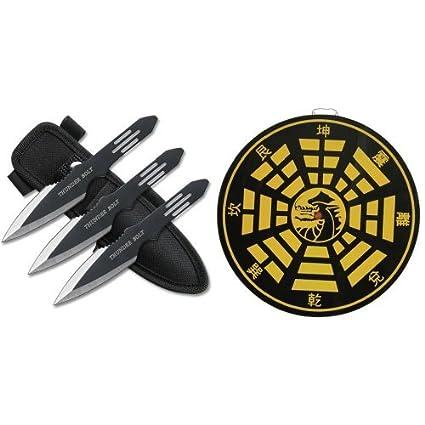 Amazon.com: Punto perfecto rc-595 – 3 Thunder Bolt Throwing ...