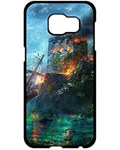 5082395ZA870842578S6 First-class Case Cover For Assassins Creed IV Black Flag Artwork Samsung Galaxy S6/S6 Edge phone Case