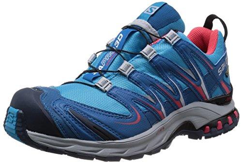 大統領素子あからさま[サロモン] トレッキングシューズ XA PRO 3D ゴアテックス レディース 防水 登山靴