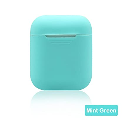 axusndas - Carcasa Protectora de Silicona Multicolor para Apple Airpods a Prueba de Golpes, Carcasa