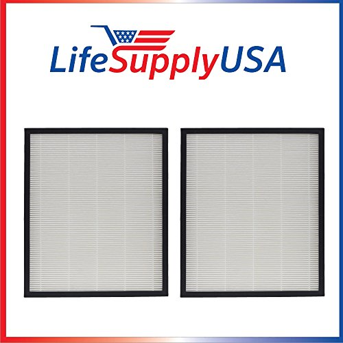 LifeSupplyUSA 2 HEPA Filters Complete Replacement Set for AIRMEGA Max 2 Air Purifier 300/300S