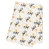 Trend Lab Dr. Seuss One Fish, Two Fish Deluxe Flannel Swaddle Blanket