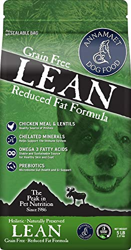 Annamaet Grain Free Lean Reduced Fat Formula Dog Food - 25 lb.