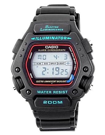 Amazon.com: Casio De los hombres reloj deportivo Alarma ...