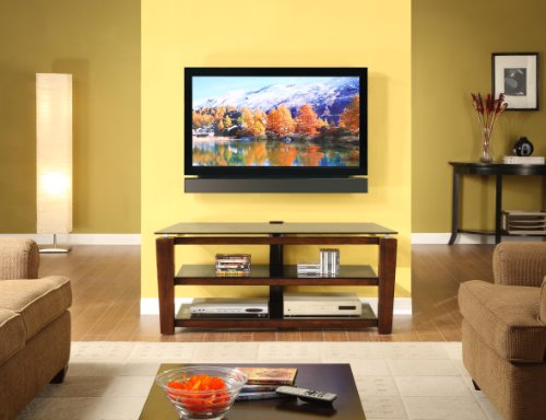 Whalen Furniture 3-in-1 Flat Panel TV Stand and Entertainment Console, 52-Inch