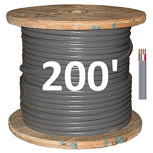 8/3 UF/B (Underground Feeder - Direct Earth Burial) Cable