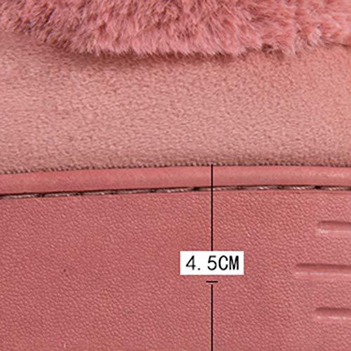 Épais A Coton Automne A Et Fond Intérieur Taille 39 Td Hiver Version Femelles Coréenne Pantoufles Belle Cheveux De couleur 40 ZWgwxnqzC