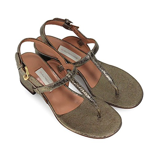 De Plana Bronce Cracklé Sandalia Chose Zapatos 2018 Mujer Primavera Verano L'autre HqwCRd