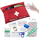 Oumers Convenient First Aid Kit, Emergency Response Trauma Bag, Survival Medical Kit, Travel Emergency Kit, Ultra Light, Small Long-lasting Case, Ideal for the Car, Kitchen, School, Camping, Hiking, Travel, Office, Sports, Hunting and Home, Best Choice for Trauma, Survival & Emergency First Aid Kit, Disaster Preparedness Medical Supplies