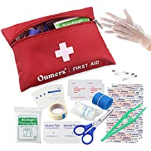 Oumers First Aid Kit Medical Bag Car Home Survival