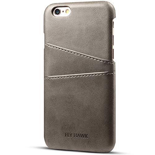 New Smart Parts Camo Pants - Wallet Phone Case, Slim Leather Back Case Cover With Credit Card Holder Grey Case , For 4.7 inches (iPhone6/6S)