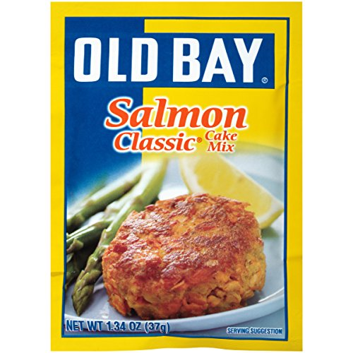 Old Bay Salmon Classic  (Cake Mix), 1.34-Ounce Packages (Pack of 12) (Best Seasoning For Salmon)
