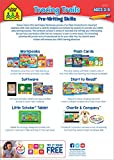 School Zone - Tracing Trails Workbook - Ages 3 to