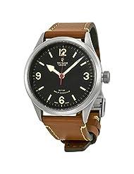 Tudor Heritage Ranger Automatic Black Dial Brown Leather Mens Watch 79910-BKASBRLS