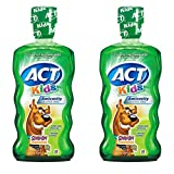 ACT Kids Ant-Cavity Mouthwash, Scooby Doo Kiwi Watermelon, 16.9 Ounce (Pack Of 2)
