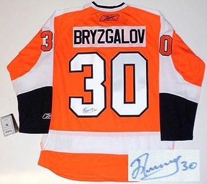 size 40 6efca 60a3a Ilya Bryzgalov Autographed Jersey - Philadelphia Flyers Reebok Premier
