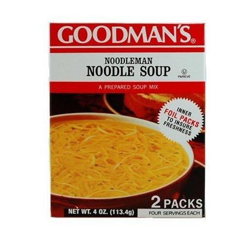 Goodman's Noodleman Noodle Soup Mix, 4 Ounce (Pack of 24) by Goodmans