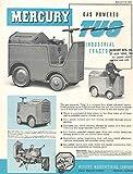 1939 Mercury Industrial Tug Tractor Brochure