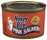 Honey Boy Pink Salmon (Pink Salmon, 7.5 ounce (pack of 12))