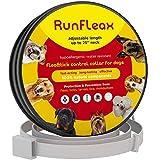 RunFleax Dog Collar flea and tick Control - flea and tick Prevention