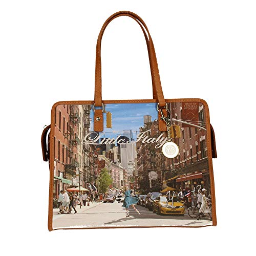 Ynot York Stampa Donna 326 L Shopper New rwYqx1r8z