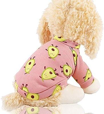 Invierno Perro Aguacate Estampado Ropa Para Mascotas Perros Ropa ...