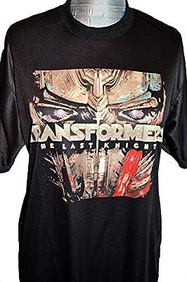 Transformers The Last Knight Movie T-Shirt Bumblebee Optimus Prime Megatron