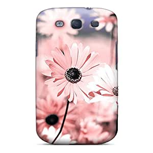 Tpu Case Cover Compatible For Galaxy S3/ Hot Case/ Flowers