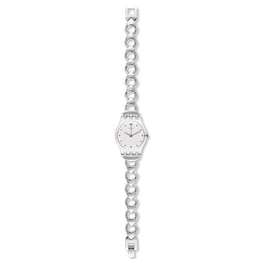 Swatch lk362g Gamme de Coeur de la mujer Dial de plata pulsera de acero inoxidable reloj: Amazon.es: Relojes