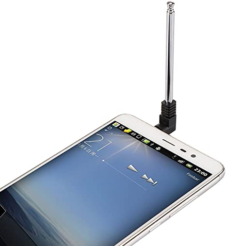 E-Pendiente - Antena de Radio FM telescópica DE 3,5 mm para Coche ...