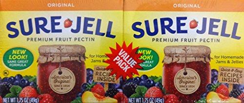 Sure Jell Premium Fruit Pectin, 1.75 Oz, 3-Twin ()