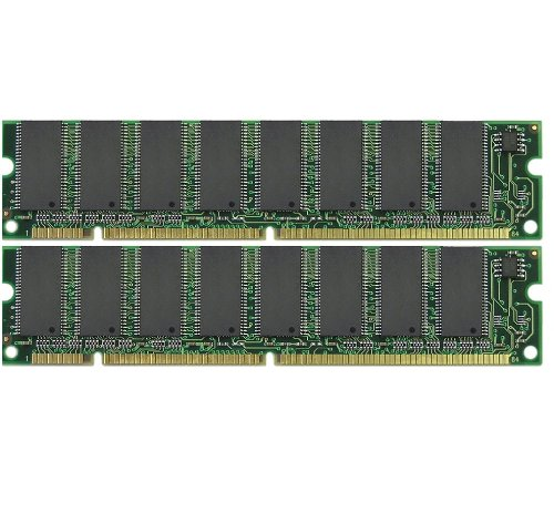 2x256 512MB Memory Dell Dimension 2100 (PIII) PC133 Corsair 512 Mb Ddr Ram
