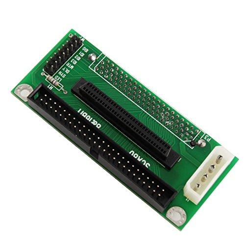 Adaptare Adapterplatine SCA-Serverfestplatte 80-poliger Anschluss auf 50 und 68-poligem SCSI-Controller