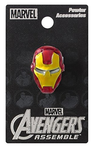 Giant Lapel Pin - Marvel Iron Man Colored Pewter Lapel Pin