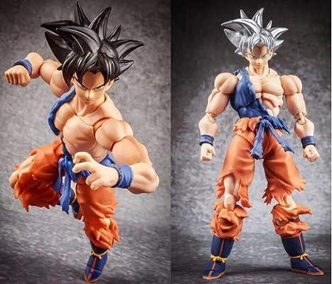 New Demoniacal Fit SS Gold Custom headsculpt Set for SHF Goku/&Vegeta