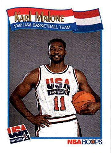 - Karl Malone Basketball Card (1992 USA Dream Team) 1991 Hoops #580