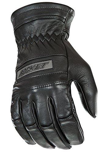 (Joe Rocket Classic Men's Motorcycle Riding Gloves (Black, Large) )