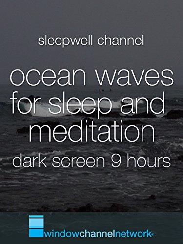 Ocean Waves for Sleep and Meditation dark screen 9 hours