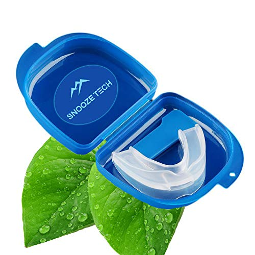Stop Snore Devices | Anti Snoring Mouthguard | Stop Snore Sleep Aid Device. Better Breathing Snore Relief Mouthpiece for Men and Women. Stops Teeth Grinding. by SNOOZE Tech