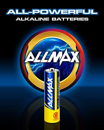 ALLMAX All-Powerful Alkaline Batteries - AA (100-Pack) - Premium Grade, Ultra Long Lasting and Leak-Proof with EnergyCircle (1.5 Volt)