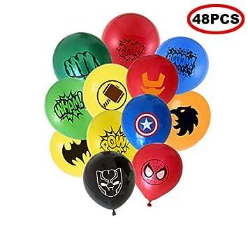Foni 48pcs Super Hero 12