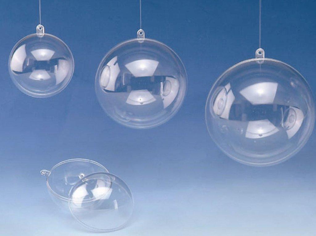 Glorex di Sfera di plastica Trasparente Arte SOFF 6/x 6/x 6/cm