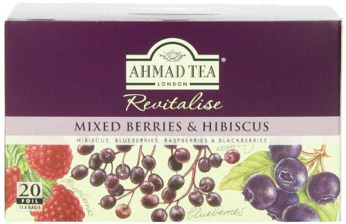Ahmad Tea Mixed Berries Infusion, 20-Count Tea Bags (Pack of (Mixed Fruit Tea)
