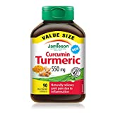 Jamieson Curcumin Turmeric Value Pack, 90 Count