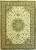 Traditional Ivory Ultra High Density Area Rug #206 Elegance (8 Ft. x 10 Ft. 6 In.) Review