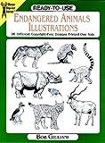 Ready-to-Use Endangered Animals Illustrations, Bob Giuliani, 0486295990