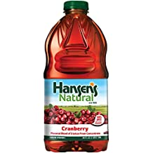 Hansen's 100% Fruit Juice, Cranberry, 64 Ounce (Pack of 8)